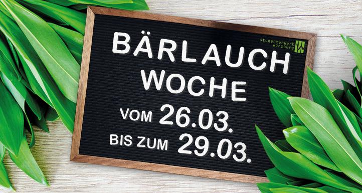Bärlauch-Woche an allen Standorten!