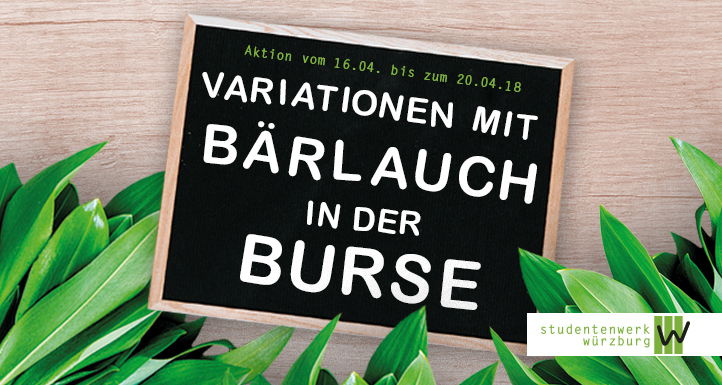 Bärlauch-Variationen in der Burse